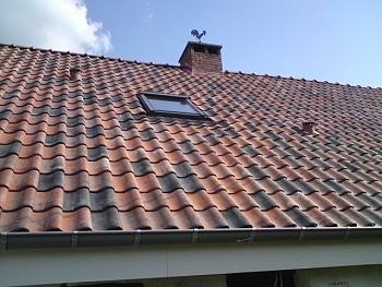 Plaatsing geisoleerde dakpanelen